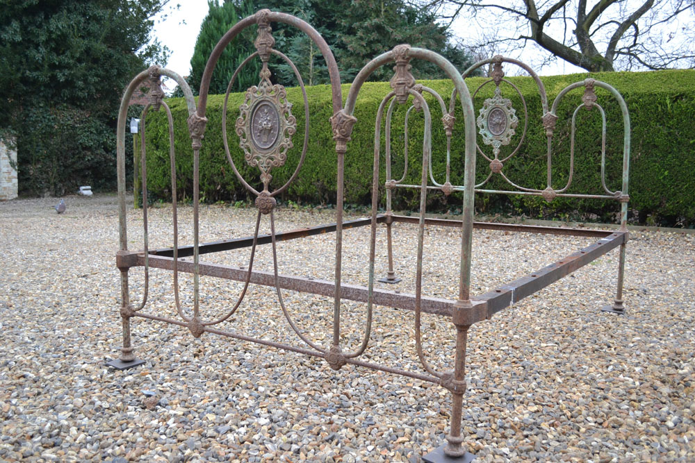 Coast To Country Antique Victorian Brass And Iron
